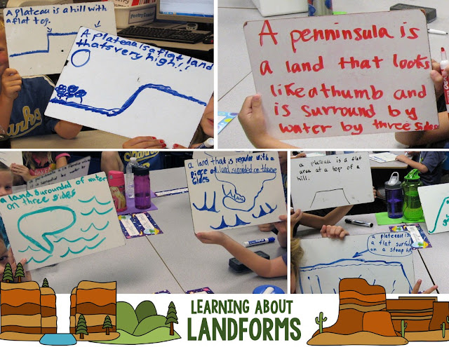 Learning About Landforms~ Taking a quick, easy (and paperless!) assessment