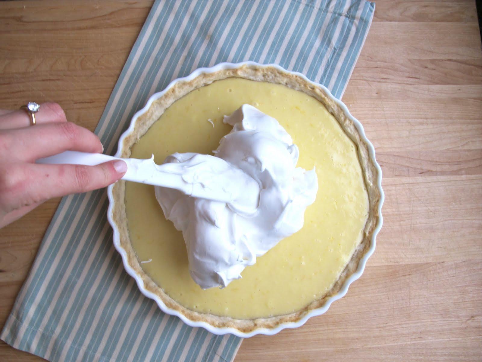 Jenny Steffens Hobick Easter Lemon Meringue Pie Spring