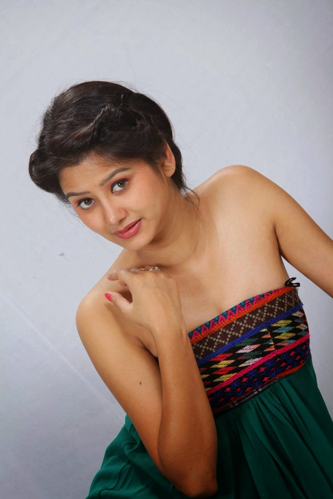 Actress Monika Singh Latest Cute Hot Exclusive Beautiful Spicy Photoshoot Gallery