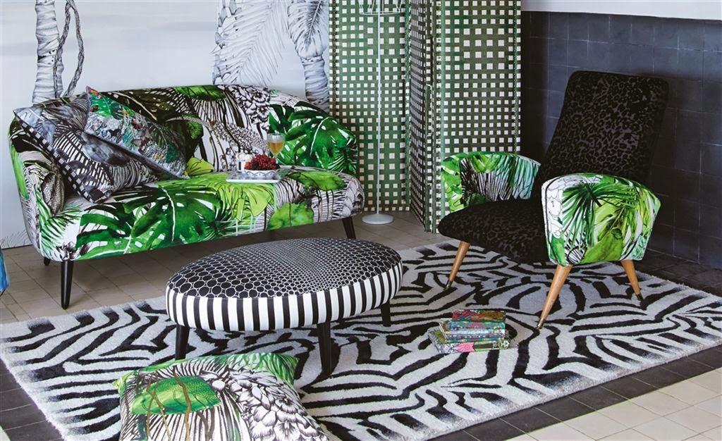 papier peint foret tropicale. Black Bedroom Furniture Sets. Home Design Ideas
