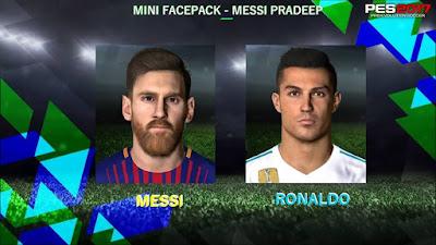 PES 2018 Mini Facepack v1 by Messi Pradeep