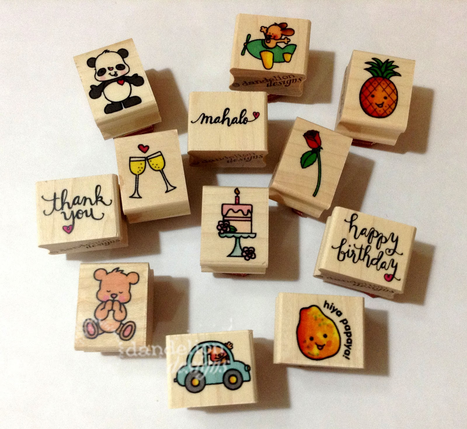 Dandelion Designs New Stamps Coming Soon
