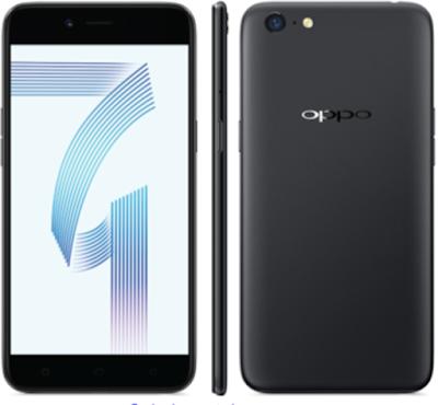 Spesifikasi Oppo A71     Oppo membekali A71 dengan layar IPS berukuran 5.2 inci. Layar tersebut memiliki resolusi HD 720 x 1280 pixels, sehingga menghasilkan kerapatan sebesar 282 ppi. Walaupun cukup tajam, namun seharusnya smartphone ini memakai layar Full HD. Selama ini Oppo tidak pernah melengkapi smartphone buatannya yang dibanderol dibawah 3 Juta Rupiah dengan layar Full HD, sehingga kekurangan ini bisa dimaklumi. Namun layar tersebut sudah menggunakan teknologi 2.5D yang membuat tepian layarnya sedikit melengkung.  Dibalik bodi Oppo A71 telah tertanam baterai berkapasitas 3.000 mAh. Tidak ada fitur fast charging yang akan mempercepat pengisian baterai tersebut. Namun baterainya cukup awet dan bisa bertahan seharian penuh apabila dipakai secara normal. Untuk bermain game dan menonton film tentu lebih boros, jadi lebih baik membawa Power Bank. Berbicara soal game, Oppo A71 ditenagai chipset Mediatek MT6750 yang berpadu dengan processor berkecepatan Octa Core 1.5 Ghz dan GPU Mali T860MP2.           Bodi belakangnya terlihat polos tanpa adanya garis antena yang kita jumpai pada smartphone Oppo selama ini. Desainnya juga standar, dan tidak memiliki tombol home serta sensor pemindai sidik jari pada bagian depan ataupun belakangnya. Sedangkan untuk dimensinya memiliki ukuran panjang 148.1 mm, lebar 73.8 mm, dan ketebalan 7.6 mm. Lalu untuk bobotnya seberat 137
