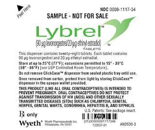 Lybrel® (90 mcg levonorgestrel + 20 mcg etinilestradiol) - nova pílula para não menstruar