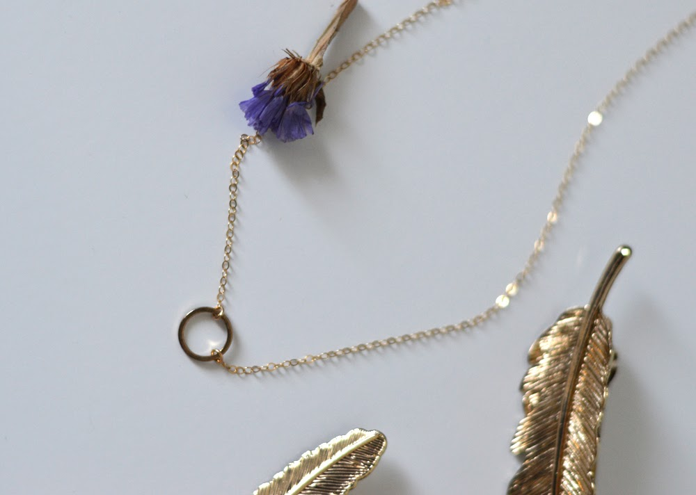 Gold Minimal Necklace