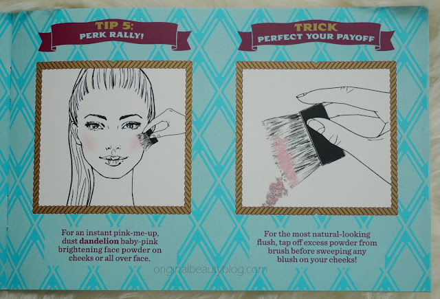 Benefit Cheek Parade Tips&Tricks