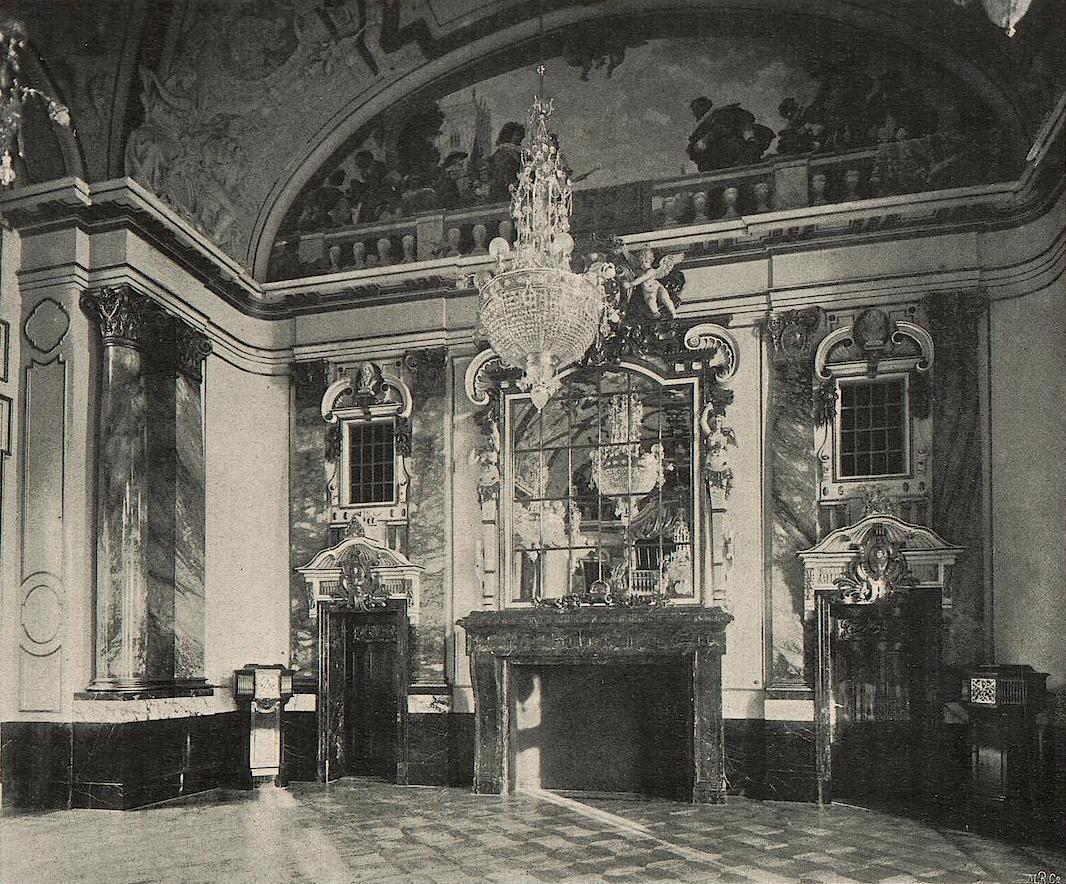 Max friedrich koch 1859 1930 werkverzeichnis schloss for Innendekoration potsdam