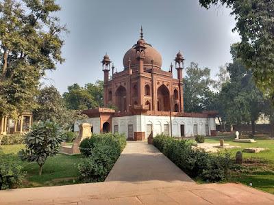 Tomb Of John Hessing Red Taj Agra Tourism Travel Blog