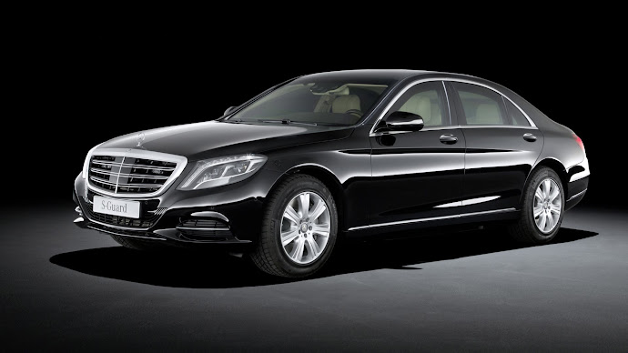 Wallpaper: Mercedes-Benz S 600 Guard