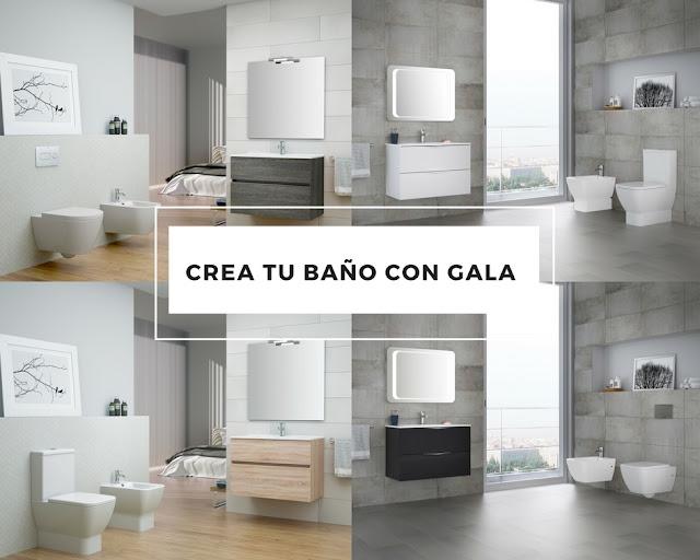 #CREATUBAÑOGALA Ideas para diseñar el baño de tus sueños