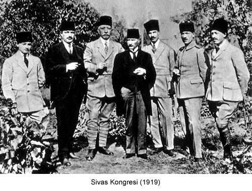 Atatürk Sivas Kongresi 1919 Fotoğraf