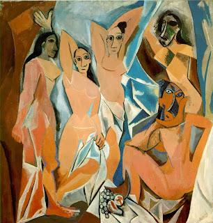 Las señoritas de Aviñon Picasso