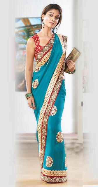 South Actress Nayantara Saree Collection Photo Shoot