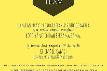 Lowongan Kerja Momento Photo Studio
