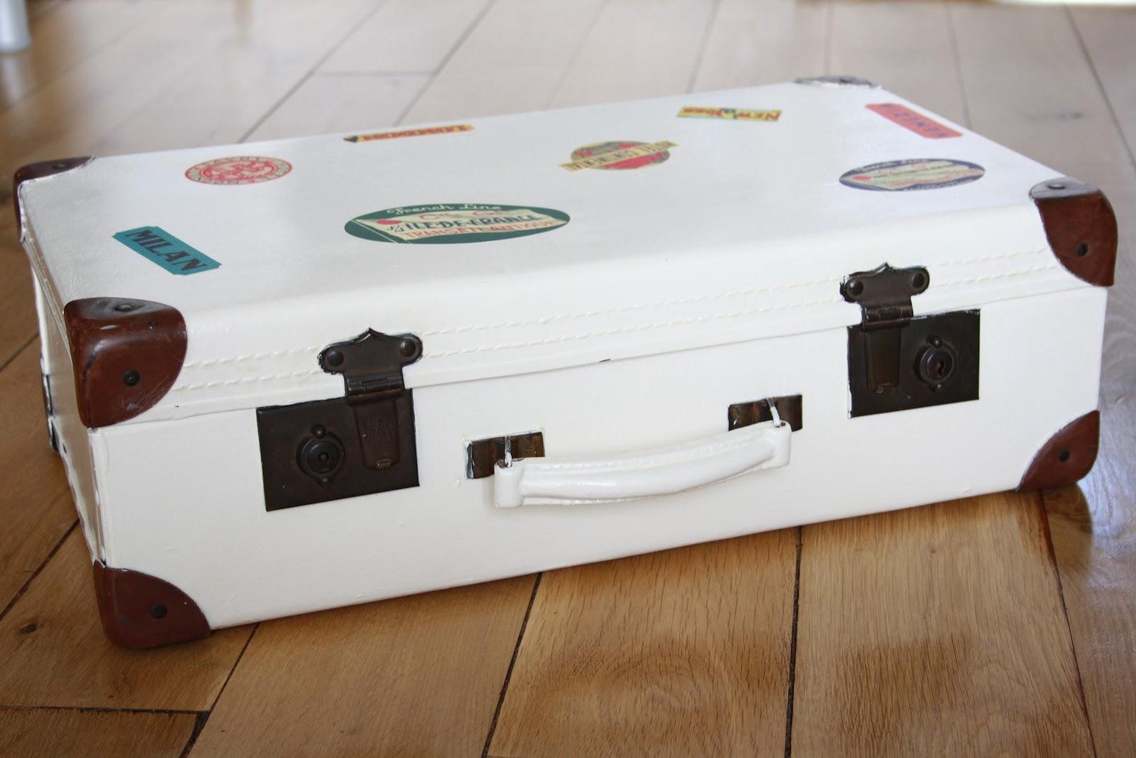 Renovating A Vintage Suitcase