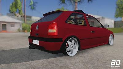 VW Gol g3 Euro Style para GTA San Andreas - Tras