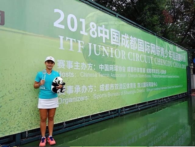 Priska Madelyn Nugroho Sabet Gelar Juara Turnamen ITF China Junior 6 Grade 3