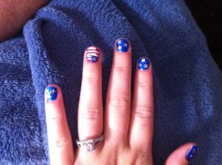 america-nail-art