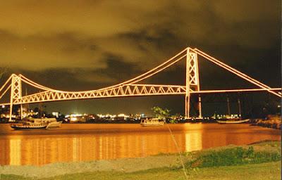 Ponte símbolo de Florianópolis - SC