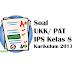 Soal UKK/ PAT IPS Kelas 8 Kurikulum 2013 PAS Semester 2 genap