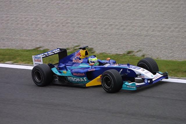 Felipe Massa SAUBER PETRONAS C23