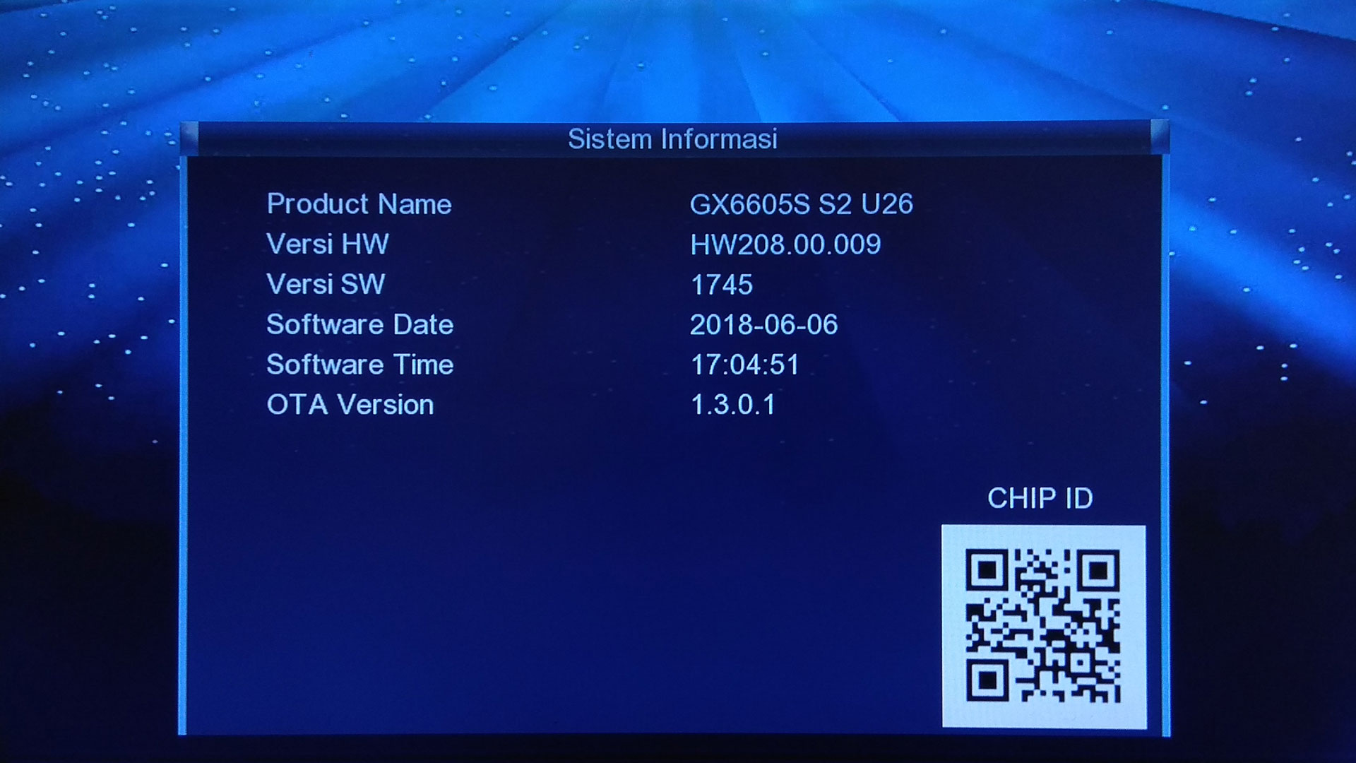 Firmware Matrix Sinema Guoxin GX6605S SW Update Software Terbaru