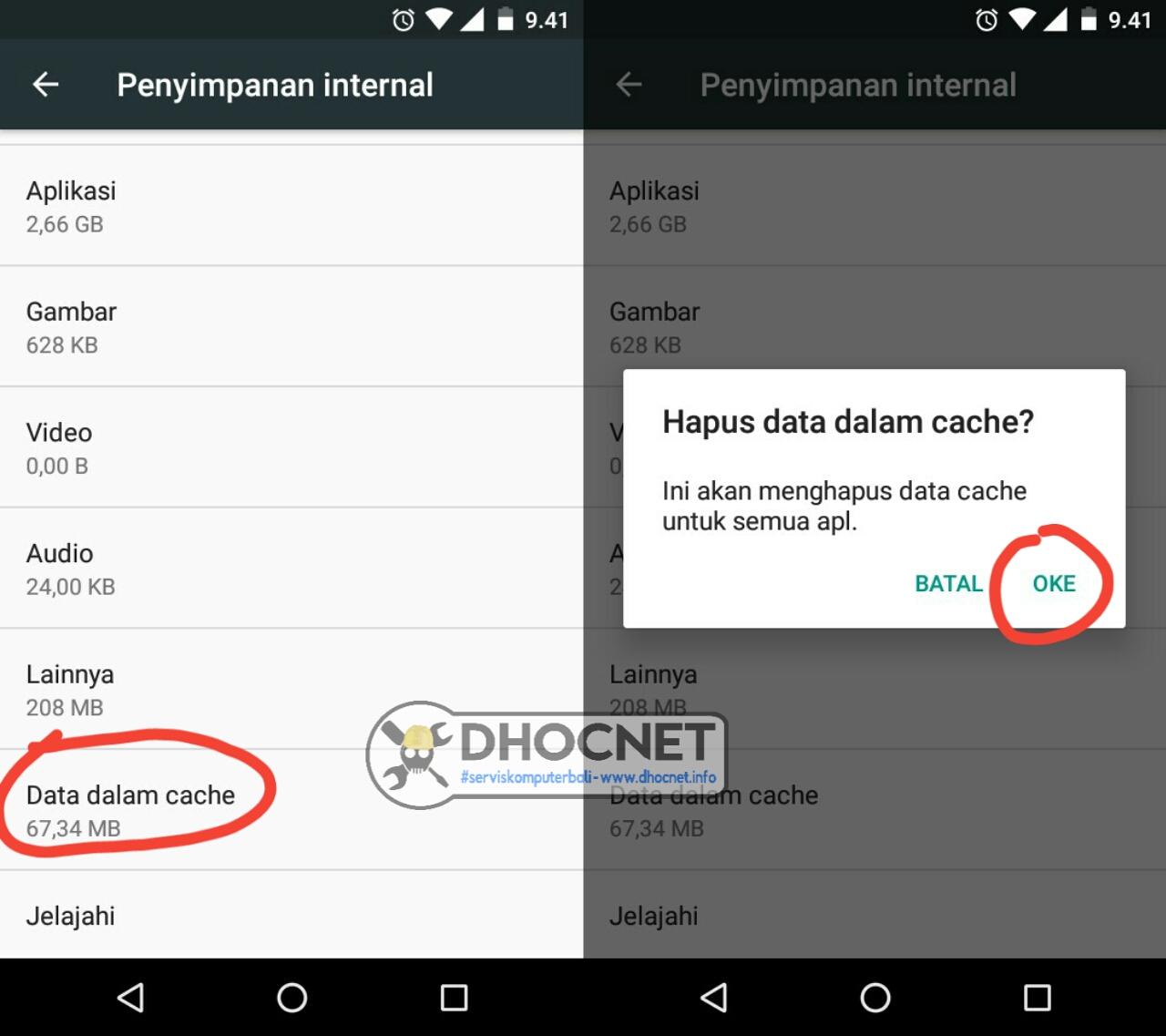 Cara Membersihkan Cache Secara Manual Pada Android