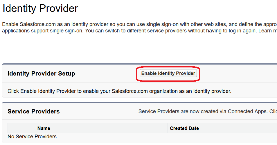 Salesforce Development & Configuration Tips: Single Sign-On