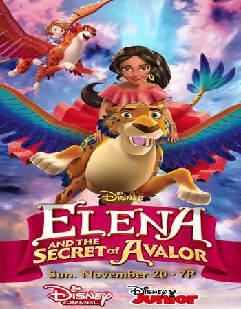 Elena and the Secret of Avalor 2016 Hindi Dual Audio 200MB Web-DL 576p ESubs Free Download Watch Online downloadhub.in