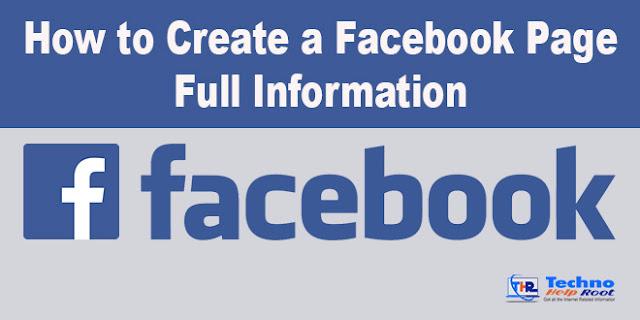 Make a Facebook Page