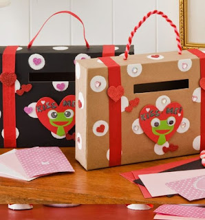 Pinterest Valentine Goody Boxes to hold cards