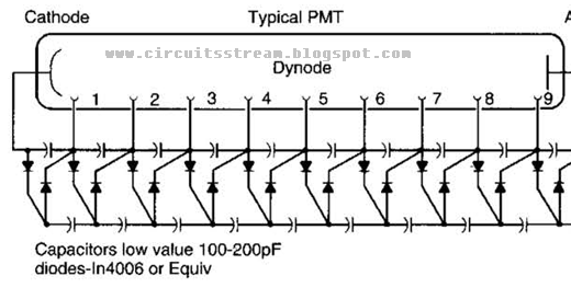 Circuit Diagram Knowledge: Simple Photomultiplier Supply
