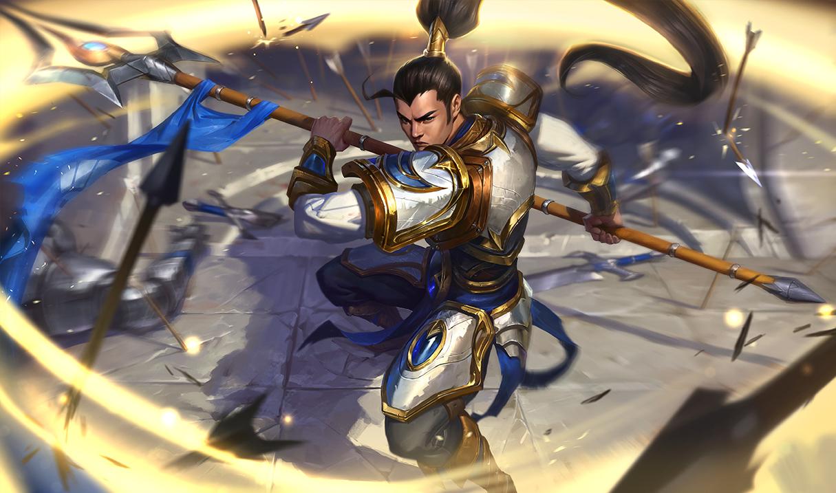 New Xin Zhao Splash Art