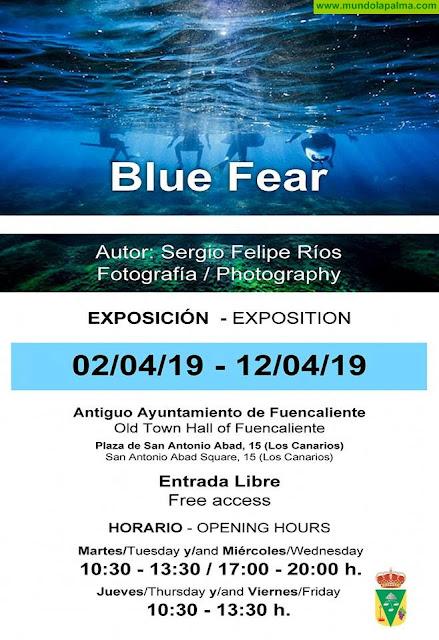 """Exposición """"Blue Fear"""" de Sergio Felipe Ríos"""