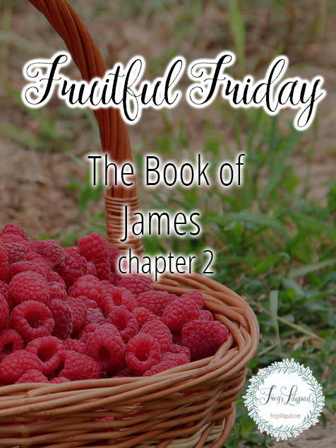 Simple Thoughts Without Theology: James 2 - Frog's Lilypad