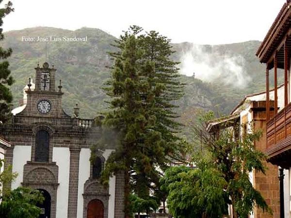 En Teror,  Gran Canaria, ha llovido 34 litros por metro cuadrado 10 febrero