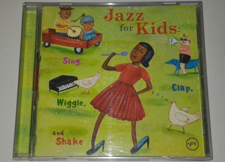 Cd V A Jazz For Kids Sing Clap Wiggle And Shake