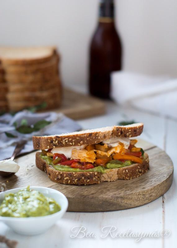 Sandwich Mejicano