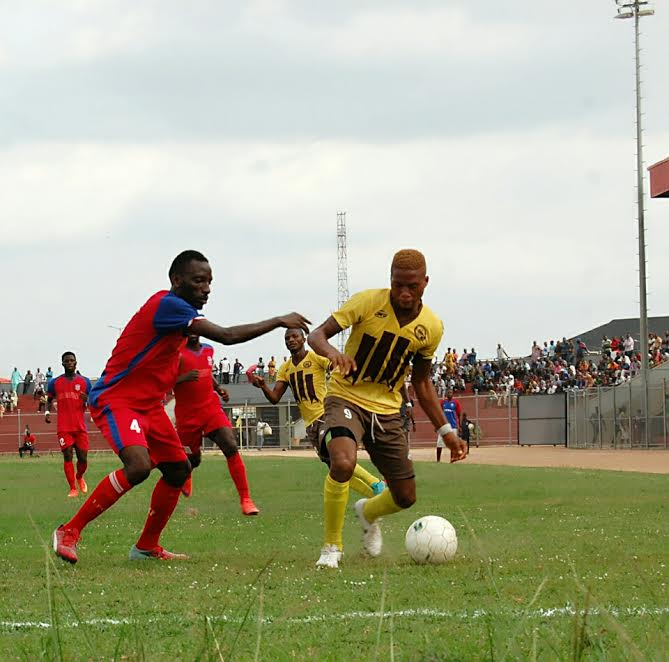 Bet9ja/Nigeria National League:Mid-week Matches: