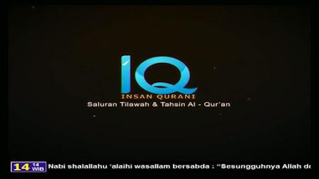 Frekuensi siaran Insan Qurani TV di satelit Palapa D Terbaru