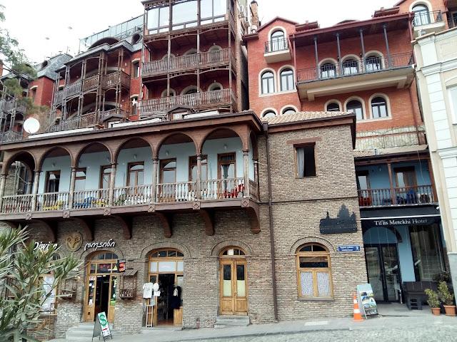 красота старого тбилиси