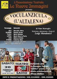 """AL TEATRO SAVIO VA IN SCENA """"VOCULANZICULA"""""""