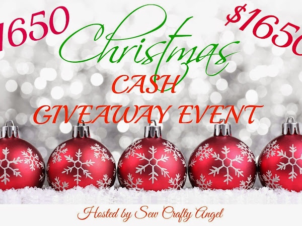 Christmas Cash Giveaway Event {$1650.00}