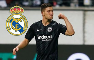 Resmi : Real Madrid Menadapatkan Luka Jovic Dari Eintracht Frankfurt