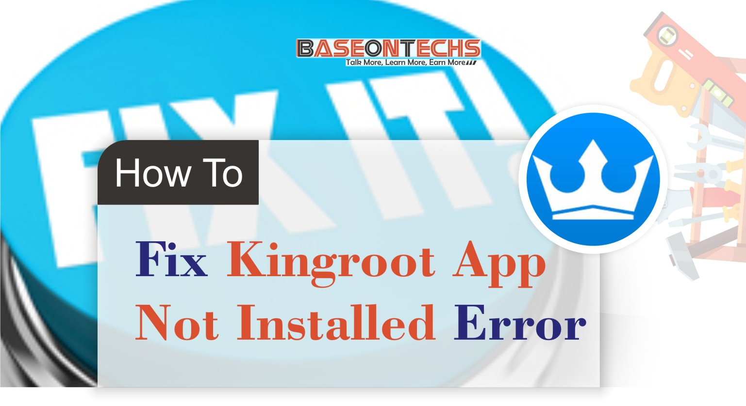 kingoroot app not installed