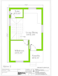 vastu duplex house plan