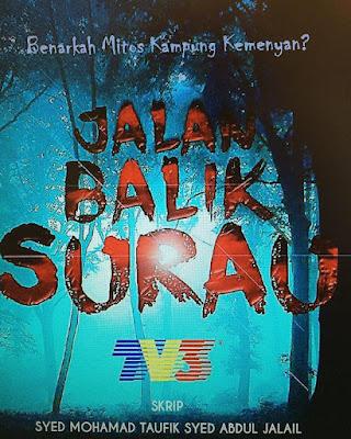 Sinopsis Telemovie Jalan Balik Surau (Cerekarama TV3), Pelakon Utama Jalan Balik Surau, Hafidz Roshdi, Saharul Ridzwan, Indah Emeerlda, Syamim Razi, Syamsul Ghau Ghau, Riz Amin,