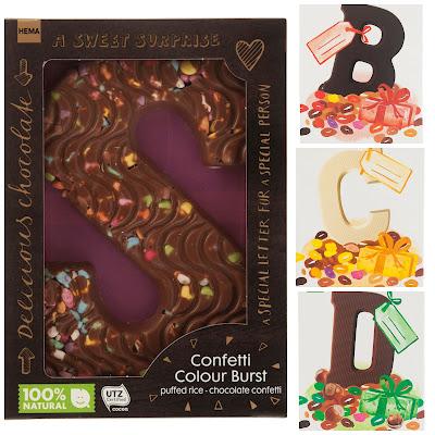 hema chocoladeletters sinterklaas sint smaken