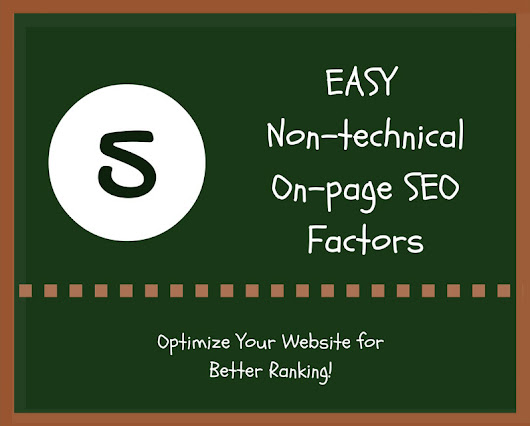 Top 5 Non-technical Ways to Optimize Your Website for Better Ranking