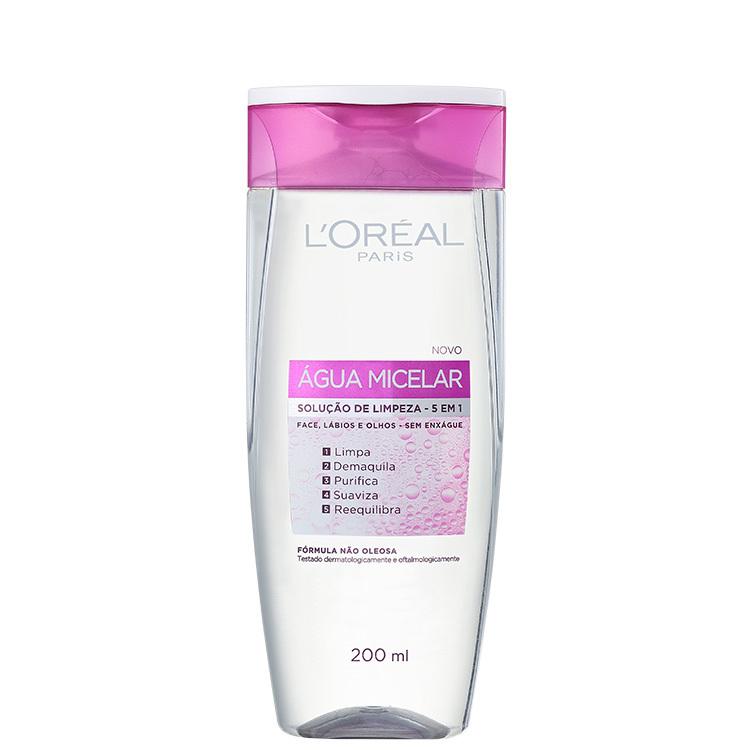 Água micelar da L'oréal; loreal; micelar